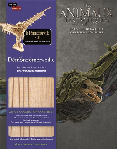 KIT COLLECTOR 6 : LE DEMONZEMERVEILLE REVENSON, JODY Gallimard-Jeunesse